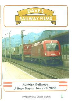 Filmed June 2008 at Jenbach Station over 50 Freight shots, many carrying lorries across three countries. Lots of mixed Freight, also many Loco Hauled Passenger trains