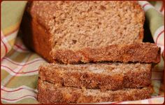APPLE-CINNAMON BREAD - Traeger Grill Recipes.....I think I will try on my traeger and another in the oven & see the difference if there is one ;)