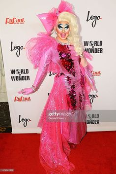 Trixie Mattel arrives for Logo TV's 'RuPaul's Drag Race' Season Finale event at Orpheum Theatre on May 19, 2015 in Los Angeles, California.