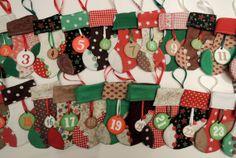 Christmas Advent Calendar by SimbieYau on Etsy