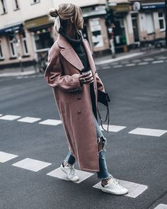 WEBSTA @ mikutas - Walk  Pink in winter  @guess coat from His