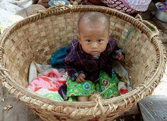 Cradle for baby (Mandalay, Myanmar)