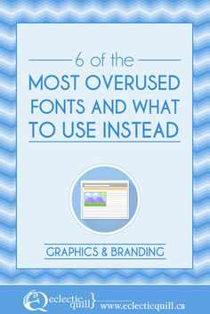 Don't use tired old fonts, try these alternatives instead