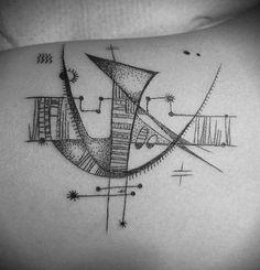 cool abstract tat