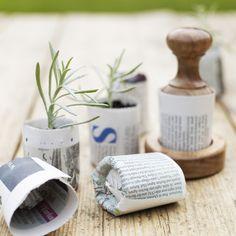 Seedling Paper Pot Press