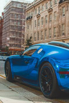Blue Matte by Benoit Cars