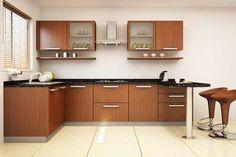 Somerset L-shaped Modular Kitchen  #L-shapedModularKitchen #ModularKitchen #L-shapedKitchen