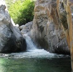 Sapphire Falls Hiking Trail in Rancho Cucamonga, California