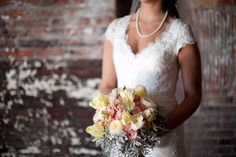 Our styled Bridal Shoot - Part 1: Victorian Bridal Inspiration. Bouquet by Love Blooms