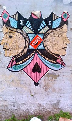 red sticker guerilla art campaign