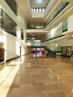 PROJECT: Public Records Office - Belfast - UK. STONE: Baycliff Lord  FINISH: Honed