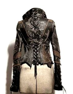 Wow. Love the detail. If you click thru to the site, there are some other awesome coats and designs.     08 by Fishy McFish, via Flickr