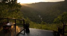 Tanamera Lodge is overlooking the scenic Sabie River Valley in South Africa's Mpumalanga province. This exclusive and small country retreat provides luxurious chalet accommodation on a bed and dinner basis in quiet surroundings of Hazyview. South Africa, River, Outdoor, Outdoors, Outdoor Games, The Great Outdoors, Rivers