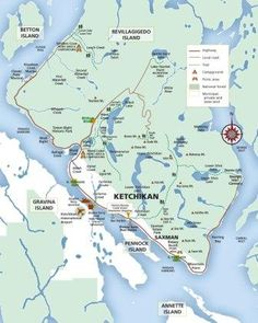 Ketchikan Alaska Map Google.105 Best Map Collage Images Abstract Art Alaska Travel Alaska Trip