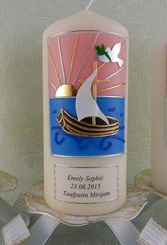 Patenkerze von Lenz  Kerzen auf DaWanda.com