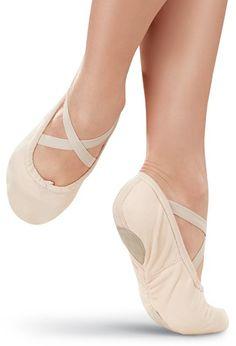 Split-Sole Canvas Ballet Shoe | Balera™