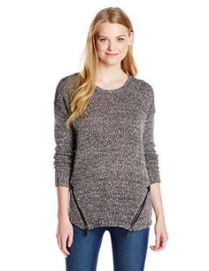 Kensie Womens Marled SweaterTin ComboMedium >>> See this great product.