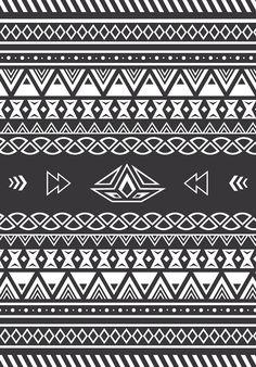 swapiinthehouse: Aztec Pattern