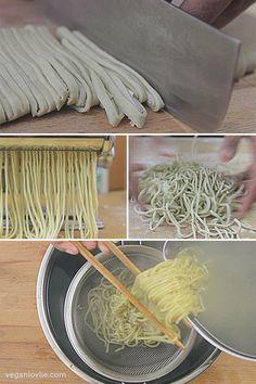 How-to Make Homemade Noodles (Mauritian + Eggless + Vegan/Vegetarian Recipe)