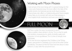 Pagan Holidays are known as Esbats and Sabbats. Esbats are observances based on the phases of the moon. Sabbats are seasonal festivals based on the astronomical and agricultural year: the solstices, the equinoxes, and the cross-quarter days. Wiccan, Witchcraft, Moon Magic, Practical Magic, Sabbats, Moon Goddess, New Moon, Moon Child, Book Of Shadows