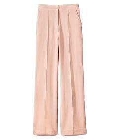 How to Wear the Pantone Colors of 2016: Rose Quartz and Serenity  - BooHoo trousers  - from InStyle.com