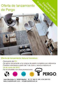 ¡#oferta de lanzamiento #Pergo #Naturalvariation hasta el 30 de junio!