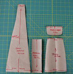 Tuunausta ja tekeleitä: Ohjeet farkkujen totaalikierrätykseen, osa 6 Projects To Try, Pouches, Sewing Ideas, Clothing, Handmade Bags, Crochet Bags, Dressmaking, Satchel Handbags, Purses