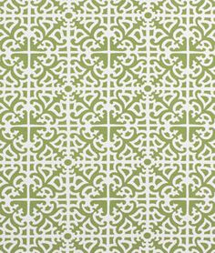 2.  Use pattern or colors on your page.  Waverly Parterre Sun N Shade Grass Fabric - $9.8   onlinefabricstore.net