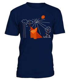 # CUTE ORIGAMI FOX IS HAPPY T-SHIRT Animal .  CUTE ORIGAMI FOX IS HAPPY T-SHIRTClick on drop down menu to choose your style, then pick a color. Click the BUY IT NOW button to select your size and proceed to order. Guaranteed safe checkout: PAYPAL | VISA | MASTERCARD | AMEX | DISCOVER.merry christmas ,santa claus ,christmas day, father christmas, christmas celebration,christmas tree,christmas decorations, personalized christmas, holliday, halloween, xmas christmas,xmas celebration, xmas…