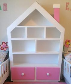 Dollhouse Bookshelf by Imagine THAT! Playhouses
