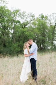 Nikki Ferrel captured America's hearts way back when she won The Bachelor, but now this leading lady has taken her love life offscreen and to the open fields and the results? Unreal. From her beautifully blush ballgown, to their sweet newly engaged kisses, we've got an exclusive peek on her e-sesh.