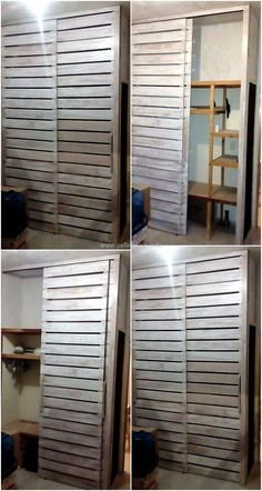 pallets wood wardrobe plan