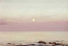 Sunset coastal - Lockwood de Forest American, 1850–1932 oil on canvasboard , 10 x 14.5 in. (25.4 x 36.8 cm.)
