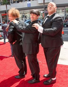 Three Stooges Red Carpet  Follow me if you love the movies!