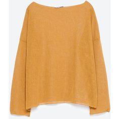 Zara Open-Knit Sweater