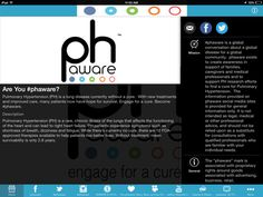 phaware Global Association Launches New Website And High-tech Pulmonary Hypertension Research Focus Pulmonary Hypertension News #phaware