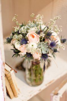Bouquet de mariée {blanc} | la mariee aux pieds nus - Part 19