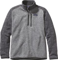 online shopping for Patagonia Men's Better Sweater Zip Nickel Forge Grey from top store. See new offer for Patagonia Men's Better Sweater Zip Nickel Forge Grey Patagonia Pullover, Mens Patagonia, Patagonia Sale, Fleece Pullover, Kappa Delta, Cool Sweaters, Outdoor Outfit, Outdoor Wear, Bermudas