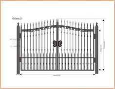 Corking Wrought Iron Fence Material Iron Fence Gate, Wrought Iron Driveway Gates, Gate Hinges, Gate Hardware, Iron Gates For Sale, Wrought Iron Gate Designs, Fencing Material, Entry Gates, Modern Fence