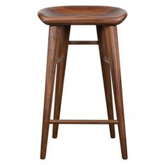 The Taburet-A Counter Stool is constructed from solid American walnut with a molded seat to give a stylish look and maximum comfort. Bar Stool Seats, 24 Bar Stools, Counter Bar Stools, Kitchen Stools, Kitchen Redo, Island Stools, Kitchen Island With Seating, Bar Furniture, Furniture Deals