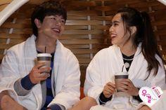 Sungjae and Joy Btob Kpop Sungjae, Sungjae And Joy, Wgm Couples, Kpop Couples, South Korean Girls, Korean Girl Groups, Boy Groups, Lee Sung Kyung, Sung Jae