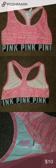PINK sports bra Pink PINK sports bra size M (never worn-tags ripped off) PINK Victoria's Secret Intimates & Sleepwear Bras
