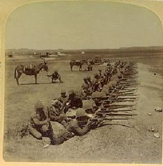 The Royal Munster Fusiliers during The Boer War