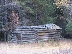 Old homestead off Burma Rd Eureka, MT