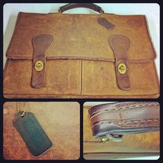 Coach Brief Bag, No. 5080, circa 1978 #ThrowbackThursday #tbt