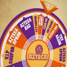 SPIN THE WHEEL DAILY at Azteca Foods WIN $100 or other daily prizes! ENDS 3/31