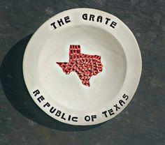 Garlic Grater Dish  Ceramic garlic grater for by Dprintsclayful