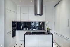 Kuchnia - zdjęcie od D-ZONE Beata Bielawska - Kuchnia - D-ZONE Beata Bielawska white | kitchen | interior | luxury | black | elegant