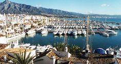 GORGEOUS Marbella Spain - southwest in this photo is Puerto Banus