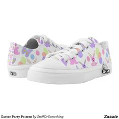 Easter Party Pattern Printed Shoes